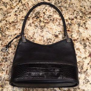 Brighton black shoulder bag- small